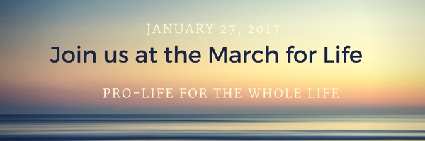 Join us at the March for Life