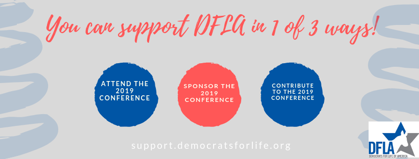 You can support DFLA in 1 of 3 ways